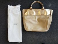 Versace Women's Top-Handle Bag Yellow Gold