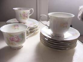 Vintage, bone china tea set