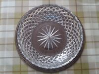 Cut Glass Bowl £12 ono