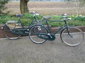 Classic Raleigh Bikes