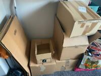 REMOVAL MOVING STRONG REUSABLE CARDBOARD BOXES