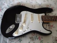 Electric guitar outfit Fender Case Amplifier Stand Strap Lead