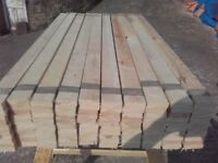 Timber boards ideal for fencing etc.