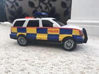 Police car toy sounds and moves