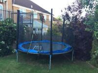 Trampoline 10ft with enclosure