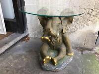 Unusual elephant coffee table
