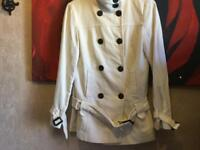 Next ladies jacket off white Sz: 10 used £5