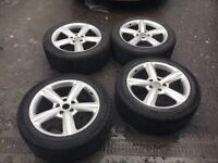 AUDI Q7 4L 20INCH ALLOY WHEEL SET WITH GOOD TYRES