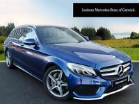 Mercedes-Benz C Class C250 D AMG LINE PREMIUM PLUS (blue) 2015-11-09