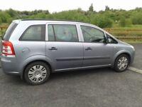 2008 Vauxhall Zafira ,1.9 Cdti ,7 seater