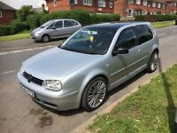 03 plate golf gt tdi 180 bhp remapped new clutch dpf removed full millteck exhaust