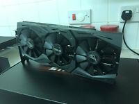ASUS Nvidia GeForce GTX 1060 6gb STRIX ROG Republic of Gamers Graphics Card GPU