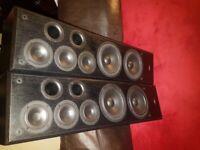 Eltax C205 floorstanding speakers £50.00