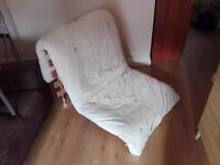 Folding ikea chair bed in excellent condition