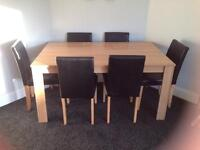 Dining table 6 seats **SOLD**