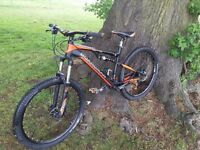 Boardman Team Mountain Bike FS Full Suspension Frame M 18""