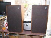 Wharfedale Glendale Speakers, Model XP-2. Floor Standing.