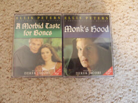 Brother Cadfael and Scarlett Pimpernell audio cassettes
