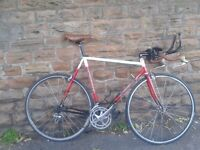 LOW PRO Track Road Bike Reynolds 653 Light Weight MB Dronfield Hand Built Mavic Campagnolo L'Eroica