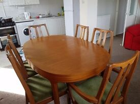 Dining table and 06 chairs