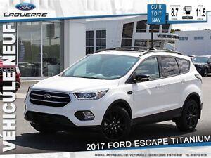 2017 Ford Escape Titanium*105$/Semaine*
