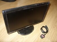 BenQ GL955A 18.5 inch LED TN Gaming Monitor Widescreen 16:9 Glossy Black Computer Screen New Unused
