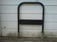 Heavy duty bike ground anchor security stand