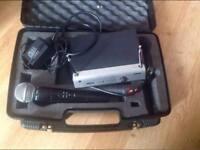 Shure sm58 handheld radio microphone 175.00 vhf