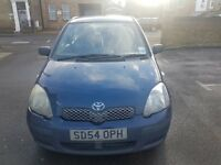 Toyota Yaris mint condition 54 Hatchback (2003 - 2005) MK 1 Facelift 1.0 VVT-i T3 3dr