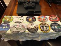 PS3 Bundle games and console