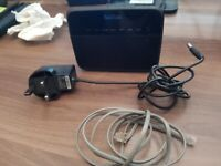 TalkTalk Huawei Broadband Wireless Router HG523a N150 ADSL2+ and Cables