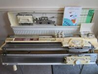 Brother KH–950i Electronic Knitting Machine and Brother KR-850 Ribber - Clean and Working