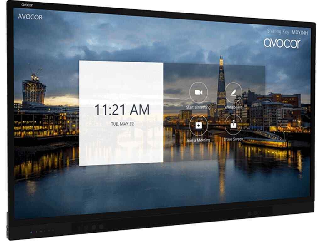 "Avocor F50-Series AVF-8650 86"" 4K Interactive 20-Point Touch Display - AVF8650"