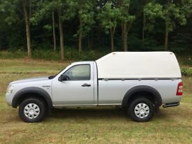 09 very rare single cab ford ranger in met silver 2grand top low miles 1 owner scottish government