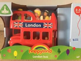 Happyland london Bus brand new toy