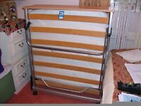 Jay-Be Folding Bed with mattress, very good condition