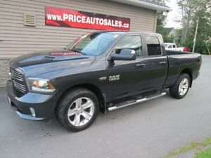 2015 Dodge Ram 1500 SPORT - HEATED/COOLED LEATHER!!!