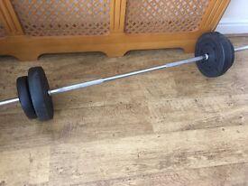 15 kg barbell