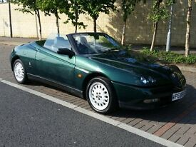 1996 Alfa Romeo Spider 2.0 TS 16V - Just Serviced, 12months MOT, Manual Soft Top