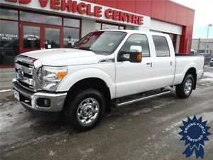 2016 Ford F250 Lariat Crew-Gas-Remote Start-Sunroof-Leather
