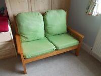 Wooden Pine Sofa/settee
