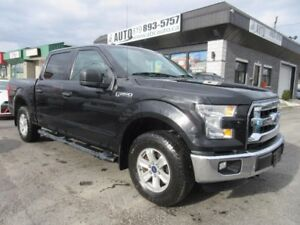 2015 Ford F-150 XLT Ecoboost (4x4, Sync, SuperCrew)