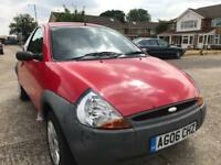 2006 FORD KA 1.3 / ONLY 19000 MILES / GOOD CONDITION/ LOW INSURANCE / BARGAIN ONLY £995
