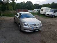Toyota avensis 1.8L 5DR low mileage long mot full service history excellent condition