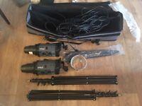 Bowens Gemini GM500 Studio Flash Kit with Umbrella