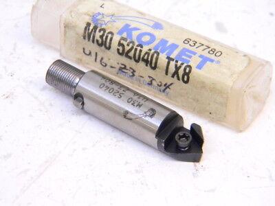 New Surplus Komet Carbide Insert Indexable Cartridge Tool M30-52040 Tx8