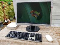 Mac-Mini With LG 22 Monitor