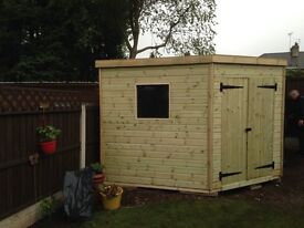 garden corner shed