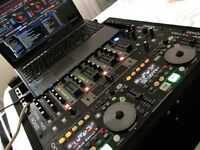 DENON DN-HC4500 MIDI DJ CONTROLLER. DN-D4500 TWIN CD-MP3 PLAYER. & DN-X500 MIXER PLUS FLIGHT CASE