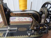 Vintage Harris Family No 2 Sewing Machine